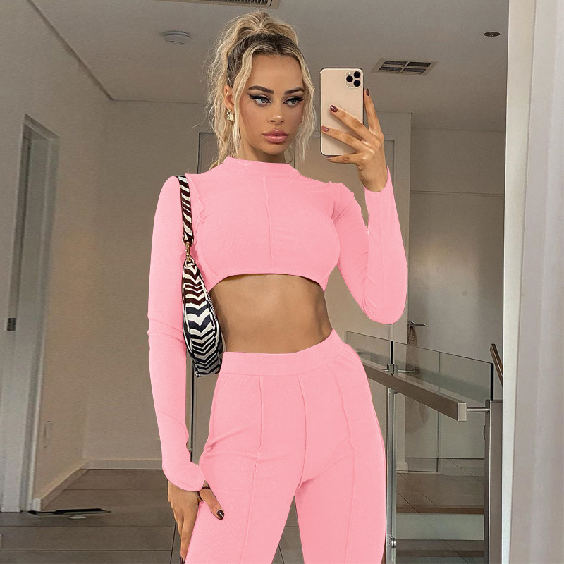 women's backless chain casual suit nihaostyles clothing wholesale NSLJ76062