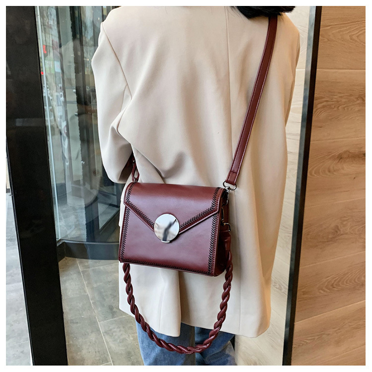 new trendy korean casual shoulder messenger square bag NHJZ316118