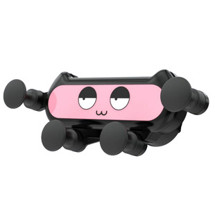 Cross-border gravity creative mobile phone car holder air outlet navigation base cartoon a gravity holder