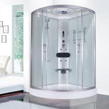 整体卫生间卫浴移门浴室隔断沐浴房弧扇形家用淋浴房一体式洗澡房