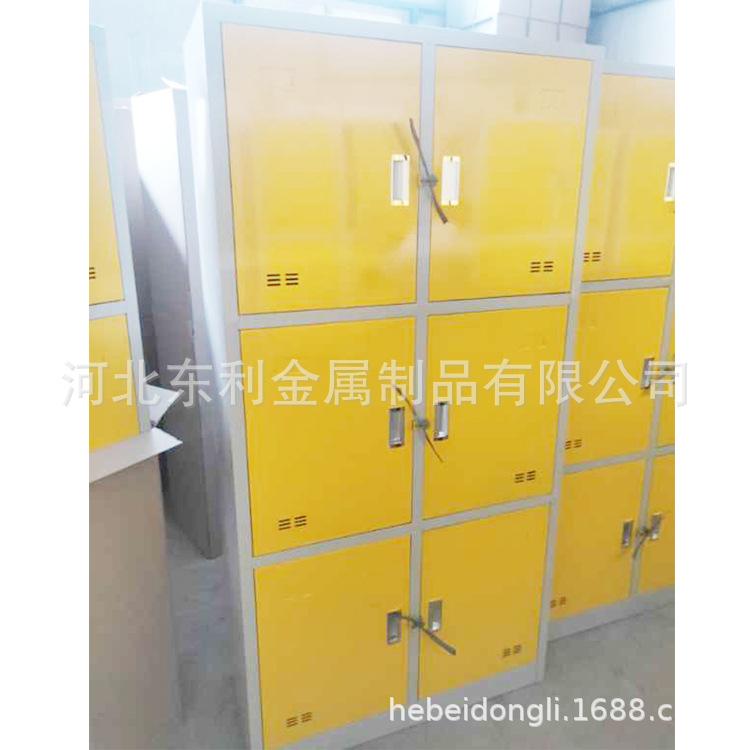 健身房浴室20门储物生活柜 钢制宿舍更衣柜 员工铁皮文件柜直销