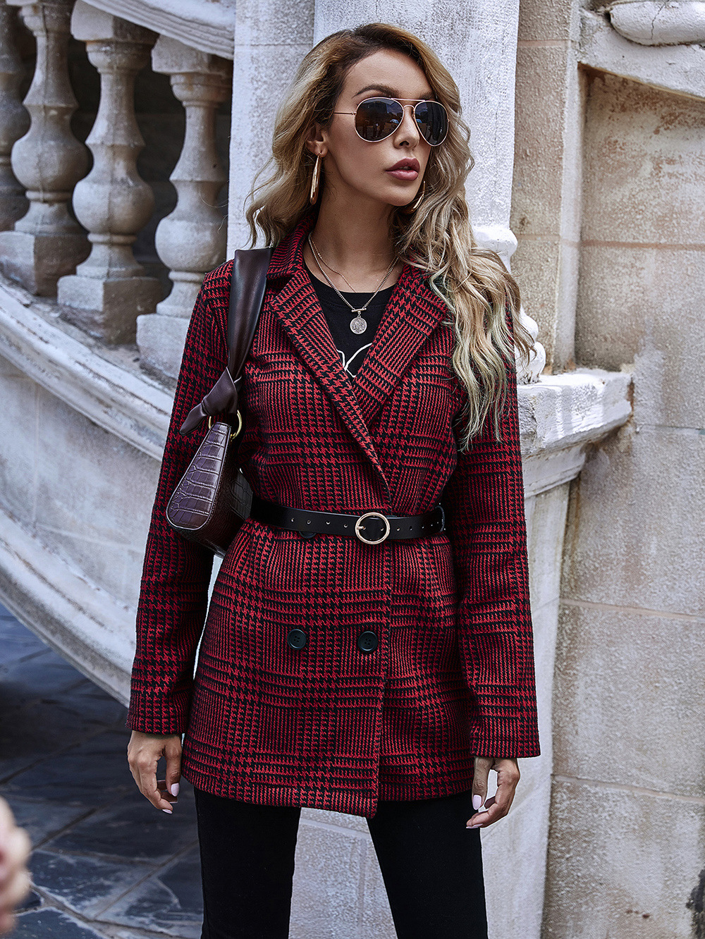 autumn and winter new women's clothing hot sale blazer women long sleeves wholesale NHDF12