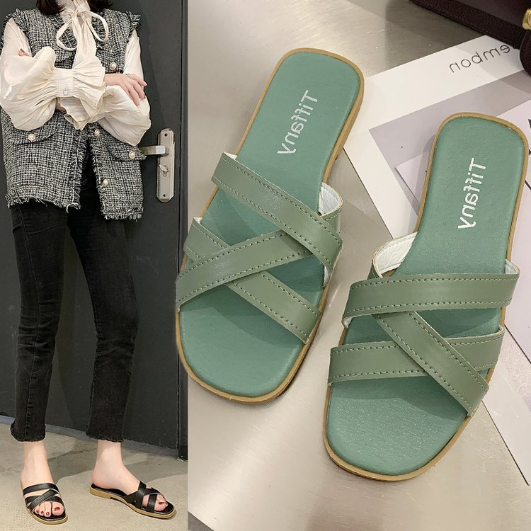 Sandals and slippers women summer new re...