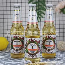丹麦原装进口啤酒 TEMPT诱惑1号蜜桃味露酒330ml*24瓶