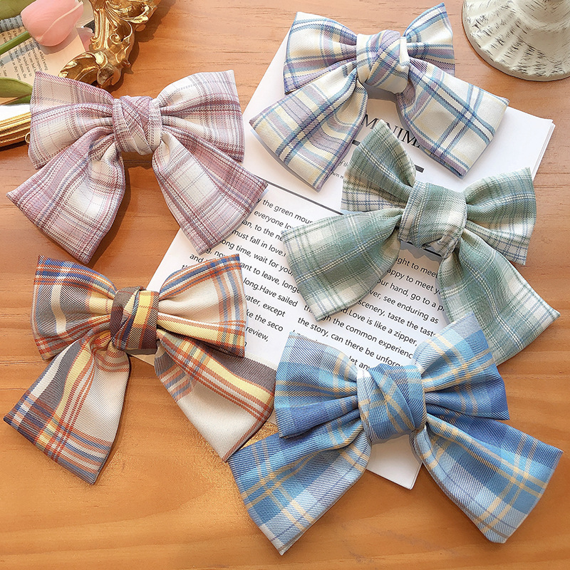 Jk uniform big bow hairpin bow tie Korean clip  wholesale NHCQ249746