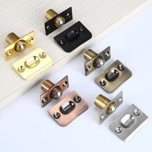 厂家直销不锈钢隐形门顶珠碰珠锁 房门不锈钢门碰珠 铜头碰珠批发