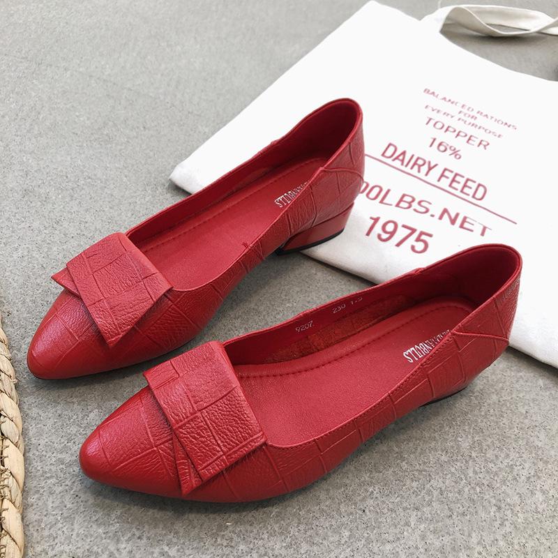 真皮大码女鞋2020秋冬季新款时尚凉鞋女粗跟中跟时装单鞋批发代发