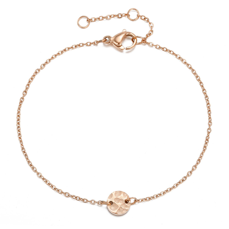 New bracelet fashion bracelet stainless steel bracelet wholesale yiwu nihaojewelry simple jewelry romantic Valentine39s Day gift NHJJ213314