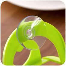 kitchen set wall suction hooks storage strong  rack