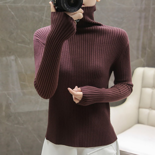 2020 sweater women autumn and winter wear knitted sweaters, drawstring bottoming shirts, women's sweaters, European and American fashion manufacturers wholesale