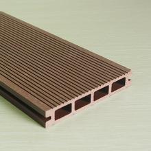 供应 木塑复合材料 木塑地板空心 150*25 市政工程园林景观用地板