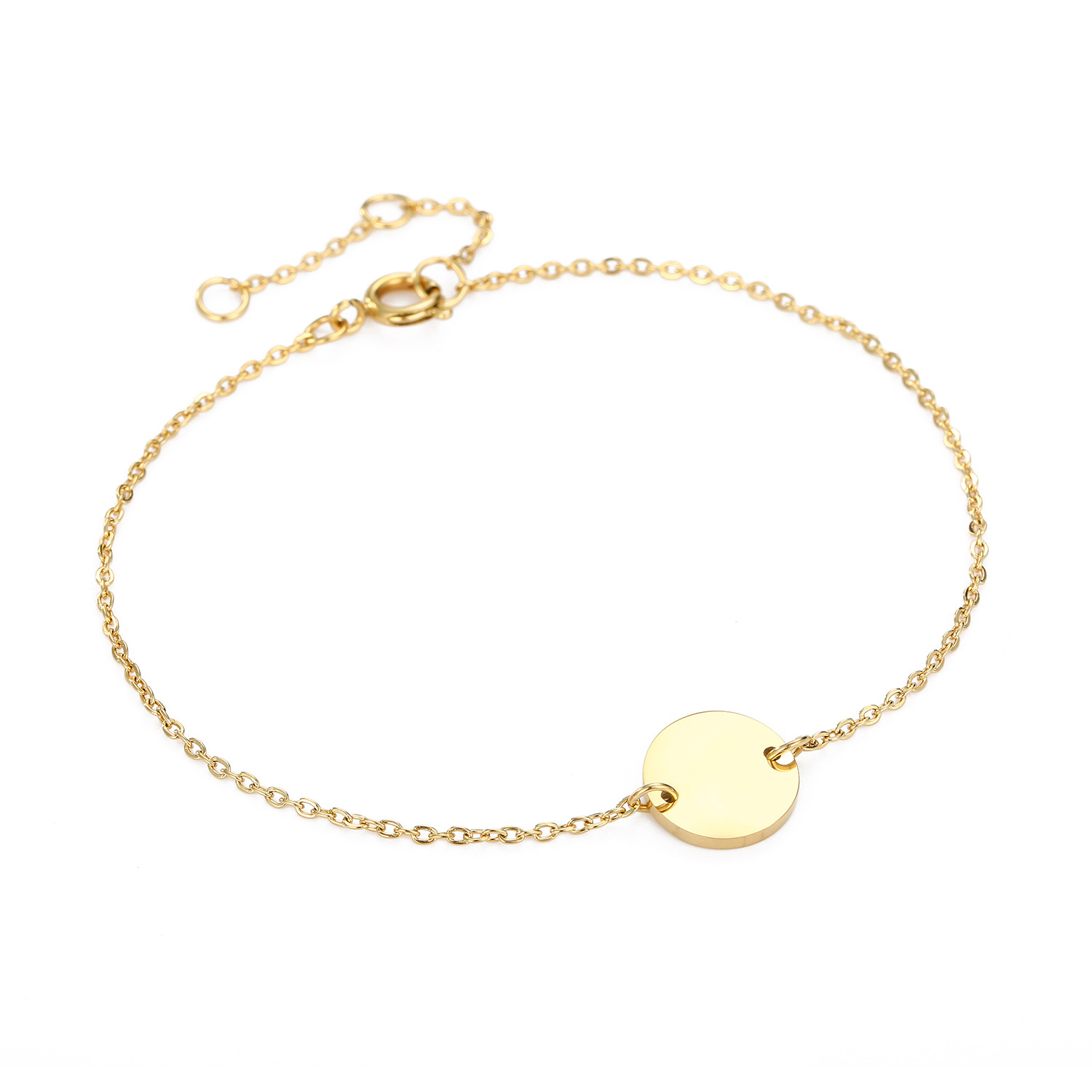 Fashion round bracelet stainless steel bracelet wholesale yiwu nihaojewelry simple jewelry romantic Valentine39s Day gift NHJJ213317