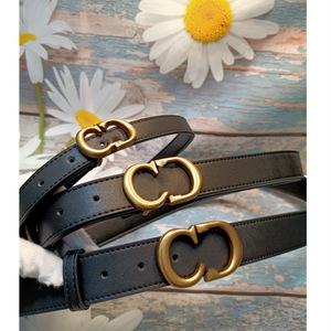 ខ្សែក្រវ៉ាត់នារី Women Casual CD Leather Wild Net Red Black Belt PZ826287