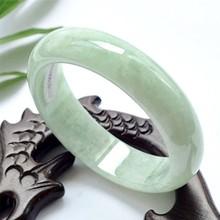 翡翠色玉石玉镯贵州翠浅绿色女款手镯批发厂家直播热销款礼品