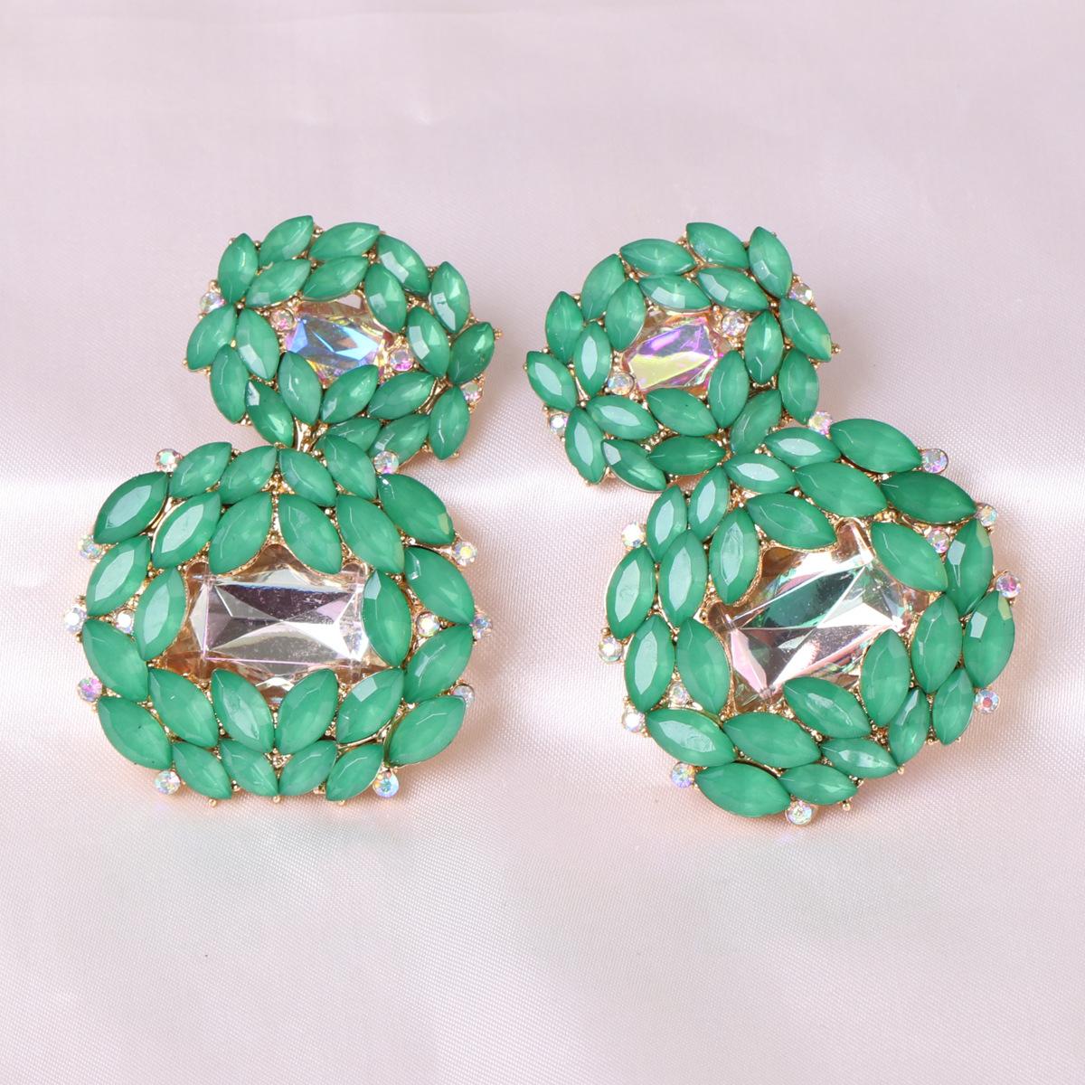 geometrische Metall Anhnger Retro handgemachte Mode AllMatchLegierung Damen Ohrringe Schmuck NHJJ247992