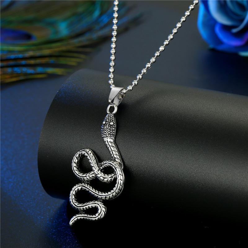 Fashion Snake Minotaur Animal Pendant Necklace