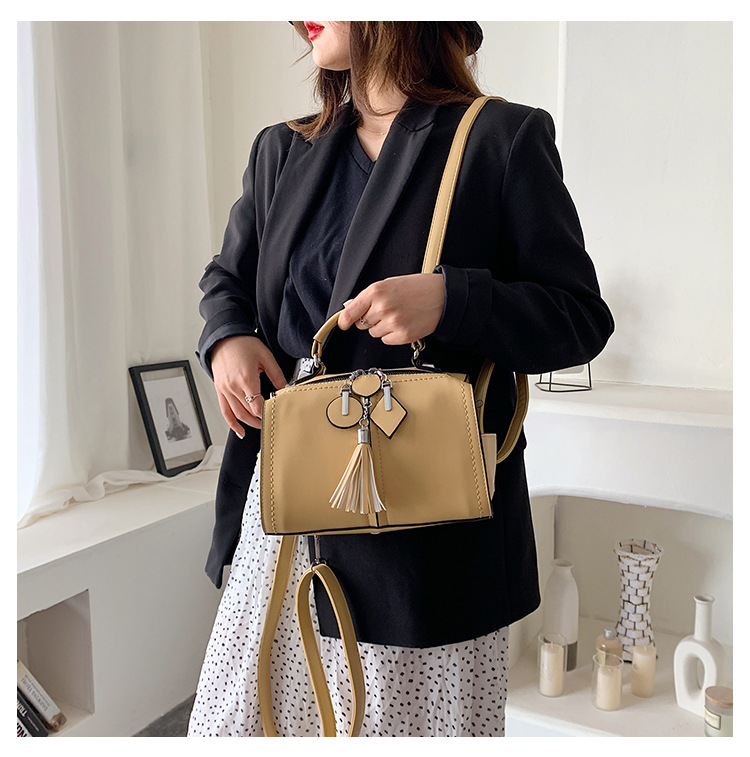 Women's new handbags fashion shoulder portable shoulder messenger bag NHTC205497