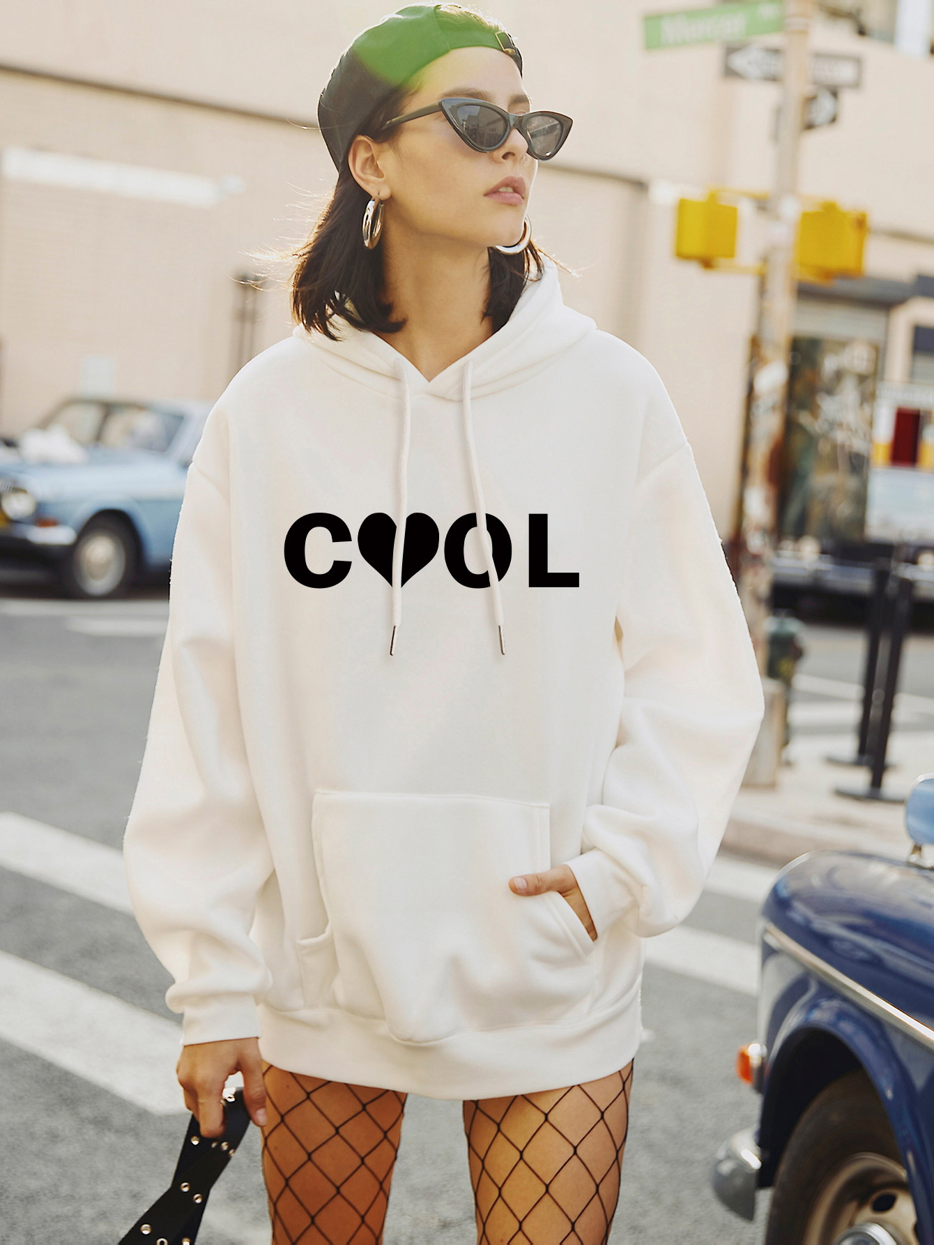 Fashion new autumn women's hooded casual plus size sweater NHSN264188