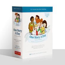 文脉书局每天一个故事12册儿童英文绘本4-7岁少儿英语原版图书