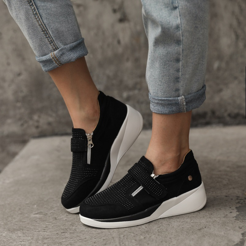 Women'S Summer Versatile Fashion Casual Shoes Thick Soled Shoes
