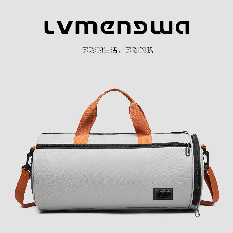 2020 جديد فصل جاف ورطب الصالة الرياضية حقيبة المرأة مخصص حقيبة أمتعة السفر حقيبة المحمولة الترفيه حقيبة يوجا اسطوانة الرجال