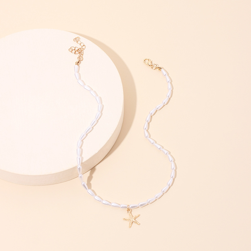 Fashion pearl new necklace for women NHRN261444