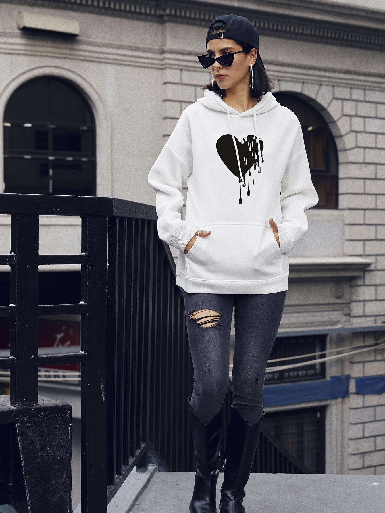 street casual hooded sweater hoodies NSSN1752