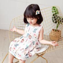 貝拉樹屋童裝寶寶公主裙女童連衣裙小童夏裝2020新款兒童裙子純棉