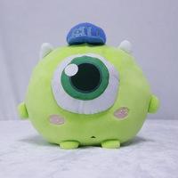 日本原单怪兽大学大眼仔毛绒玩具独眼怪卡通动漫抱枕 娃娃机商品