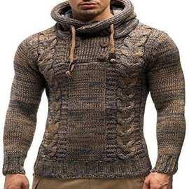 Men winter pullover sweater Мужской свитер 毛衣