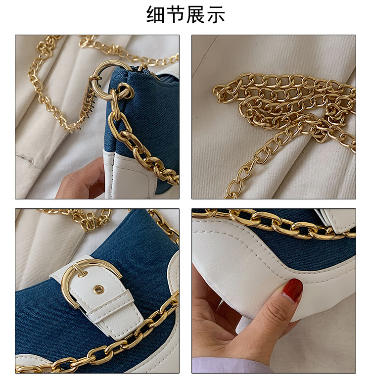 small bag popular new wave fashion wild messenger bag  ladies chain handbag wholesale nihaojewelry NHJZ224140