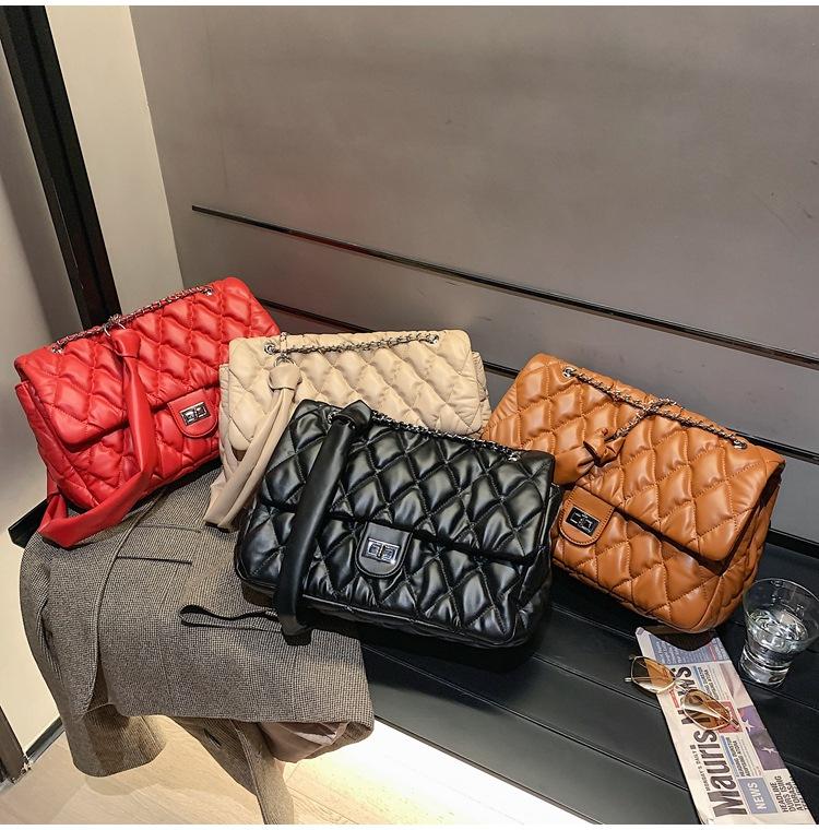new trendy fashion rhombus chain bag  NHLH270276