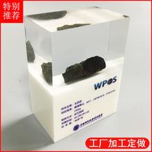 专业加工水晶胶内埋工艺品 树脂内嵌模型制品 水晶胶产品定做