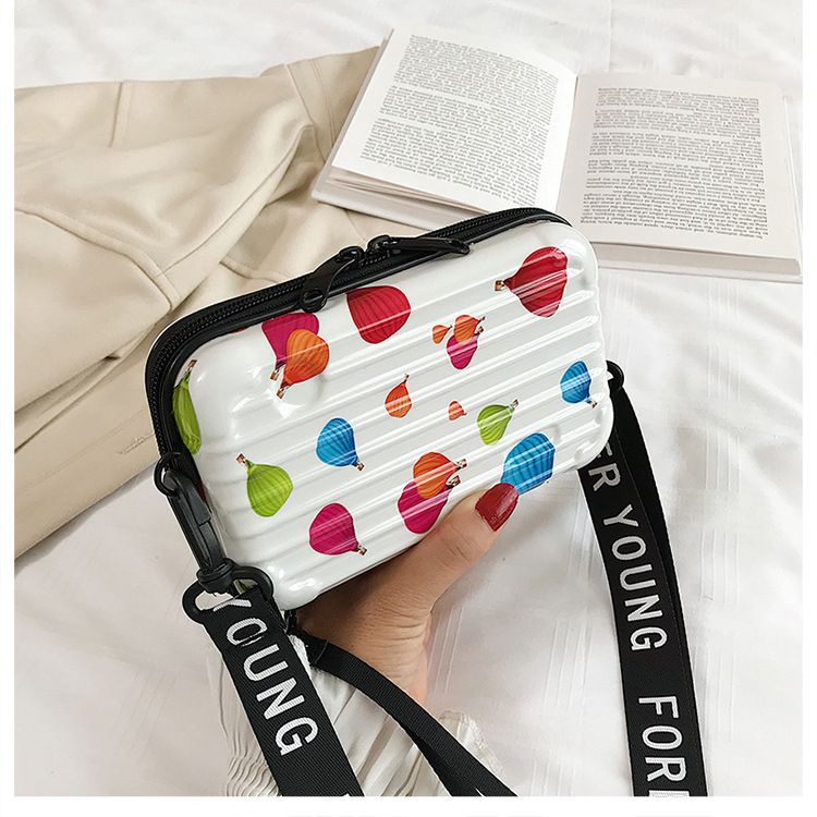 Korean childrens bags new mini suitcase mobile phone bag crossbody square bag NHLH282629