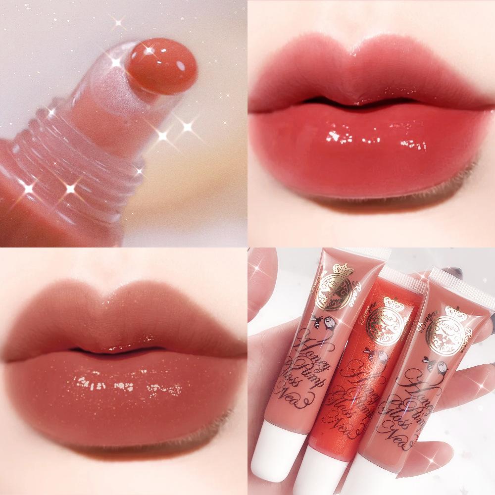 Vibrato transparent lip gloss lip glaze...