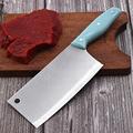 厂家直销不锈钢家用菜刀厨房用刀切菜切肉锋利塑料柄菜刀阳江刀具