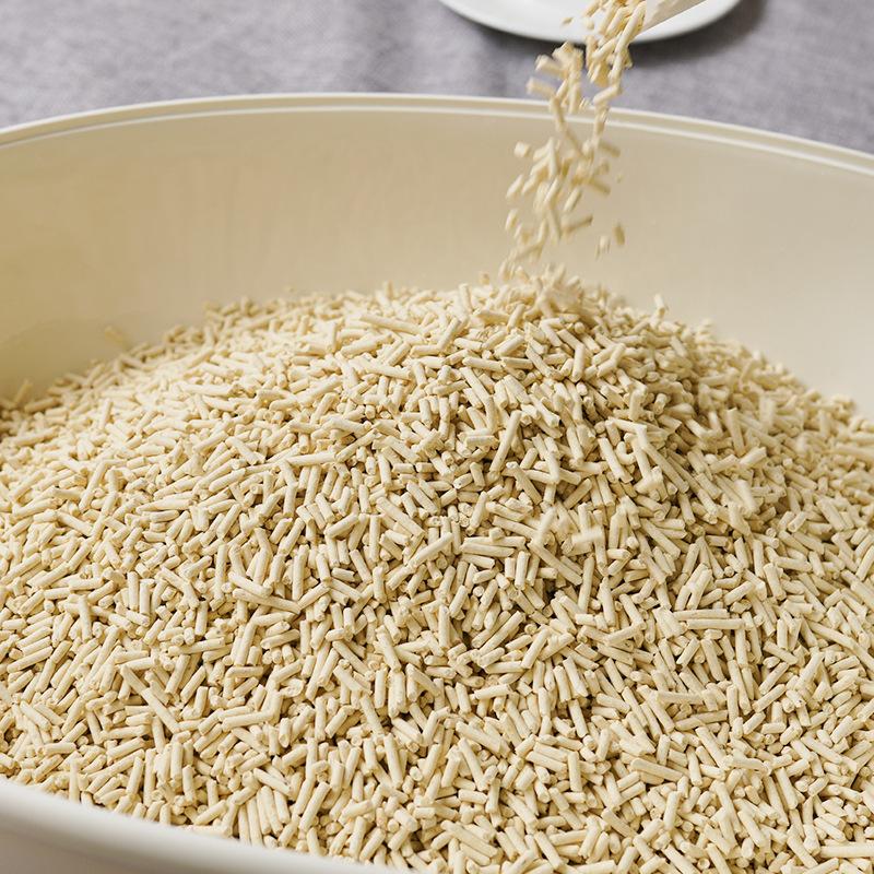 LOVECAT豆腐猫砂结团除臭抑菌高性价比2.6kg厂家直销包邮代发