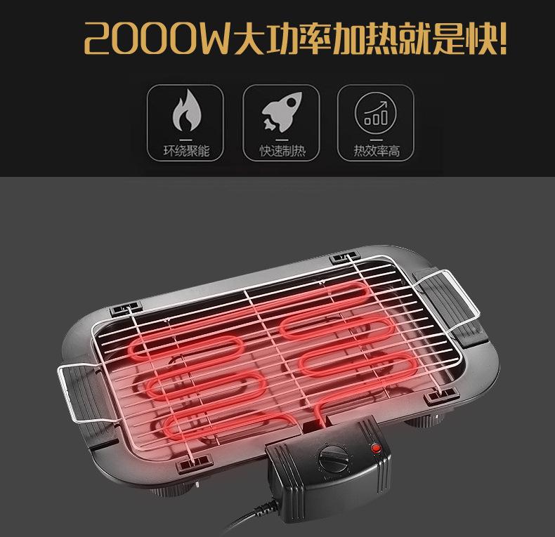 【獨家新品】家用無煙電烤爐丨電燒烤爐丨戶外丨電燒烤架丨BBQ烤串機烤肉機丨電烤盤