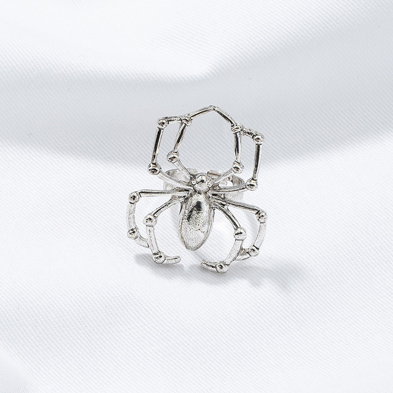 fashion spider open alloy ring wholesale NHGU327971