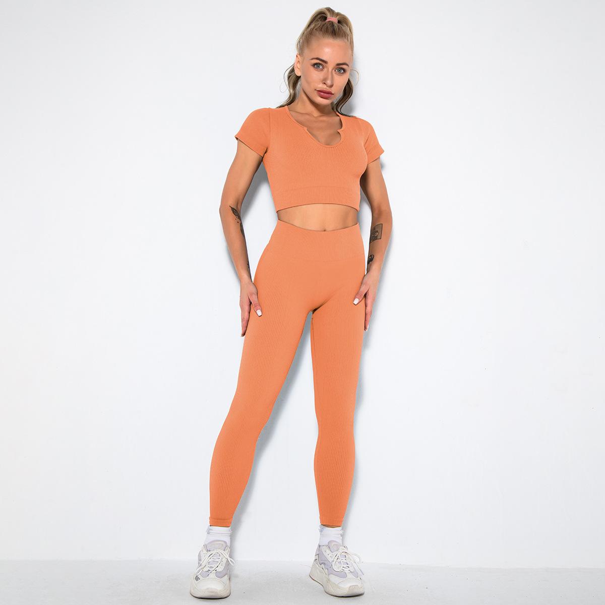 seamless sexy sports fitness set NSLX63092
