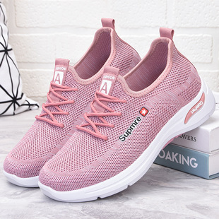 Shoes women new style 2021 casual shoes fashion mom shoes shoes foreign trade women's shoes soft sole sports shoes women
