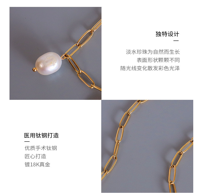 new fashion specialshaped baroque pearl necklace NHOK341768