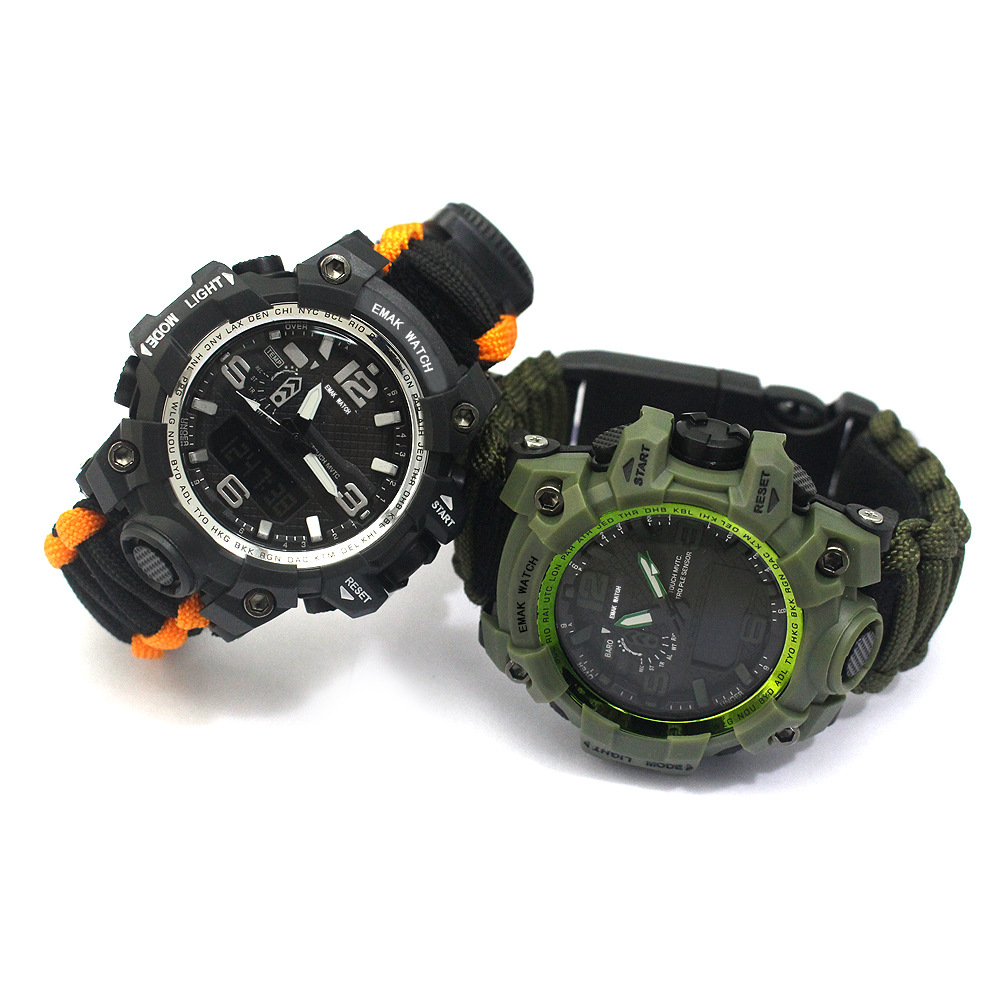 Men's Sports Watch Compass Thermometer S...