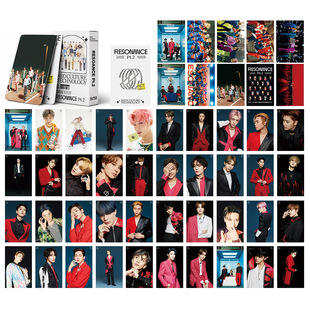 54 NCT LOMO cards 2021 new special