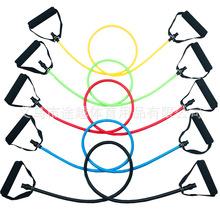 一字拉力绳健身器材阻力带拉筋板弹力带腿部拉力器乳胶防断拉力管