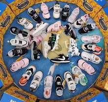 巴布豆品牌新款运动童鞋潮流休闲单鞋多款齐码混批特价折扣儿童鞋