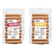 帕家小鎮烤腸600g速凍熏煮芝士原味烤肉腸火腿速食早餐腸泡面配料