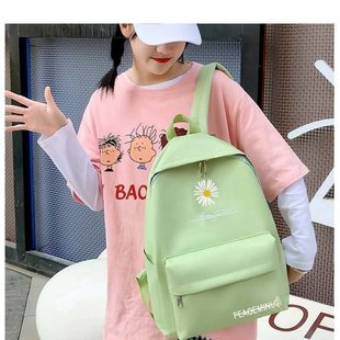 Backlog of inventory tail goods school bags men and women Korean version of Harajuku junior high school students backpack fashion campus backpack