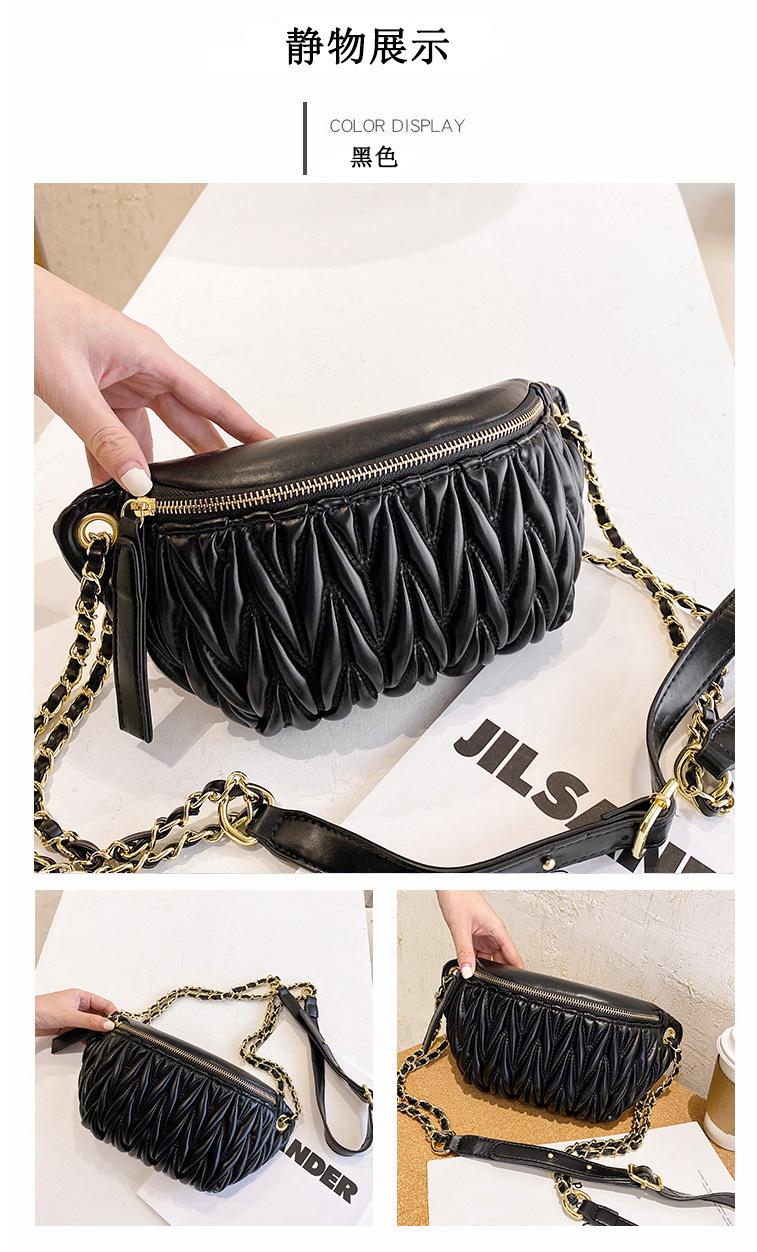new fashion oneshoulder messenger dumpling bag NHTG313584