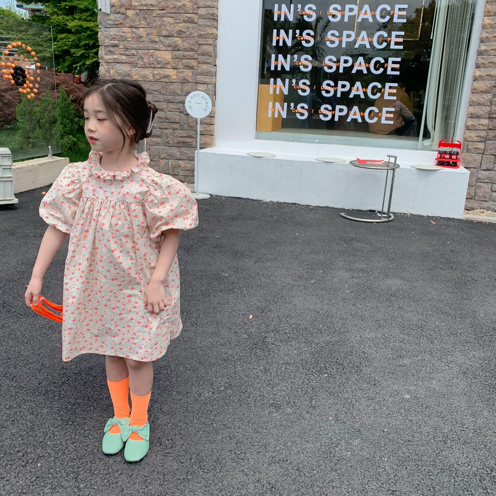 váy hoa cho bé gái đẹp 1